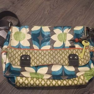 Fossil Key-Per Messenger Bag